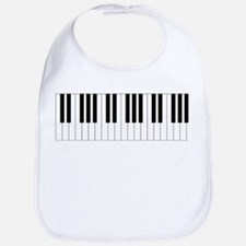 Piano Keys Bib