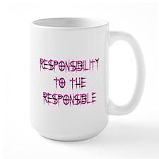 Responsibility Tall Mug (Pink)