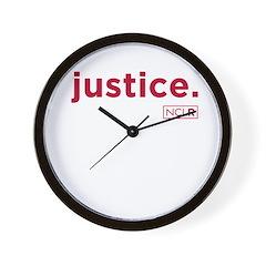 NCLR Justice Wall Clock