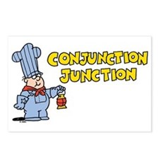 Conjunction Junction Postcards (Package of 8)