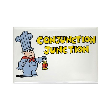 Conjunction Junction Rectangle Magnet