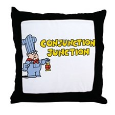 Conjunction Junction Throw Pillow