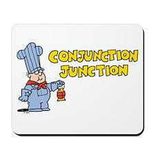 Conjunction Junction Mousepad