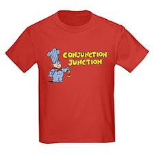 Conjunction Junction Kids Dark T-Shirt