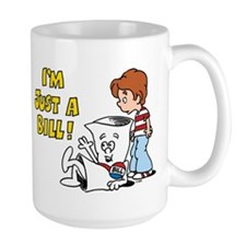 Just a Bill Large Mug