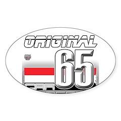 Musclecar 1965 H Sticker (Oval 10 pk)