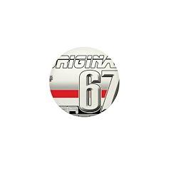 Musclecar 67 H Mini Button (10 pack)