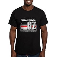 Musclecar 67 H Men's Fitted T-Shirt (dark)