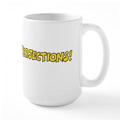 Interjections Large Mug