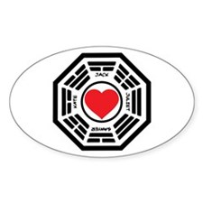 LOST Love Square Decal