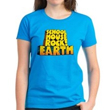 Schoolhouse Rock! Earth Women's Dark T-Shirt