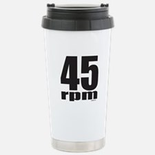 45 RPM Stainless Steel Travel Mug