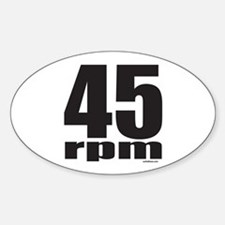 45 RPM Decal