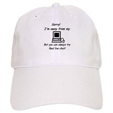 Try Real Live Chat Baseball Cap