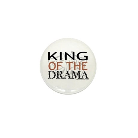 """""""King of the Drama"""" Mini Button (100 pack)"""