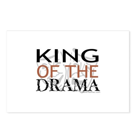 """King of the Drama"" Postcards (Package of 8)"