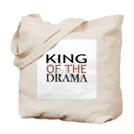 """King of the Drama"" Tote Bag"