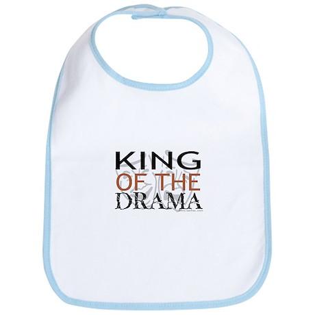 """King of the Drama"" Bib"