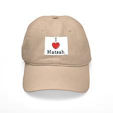 I Love Matzah Passover Baseball Cap