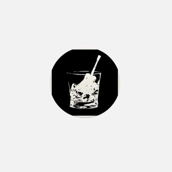 Whiskey 'n' Ramblin' Mini Button