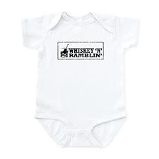 Whiskey 'n' Ramblin' Infant Bodysuit