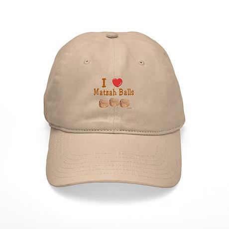 I Love Matzah Balls Passover Cap