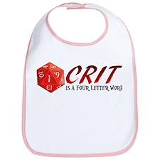 Four Letter Crit Bib