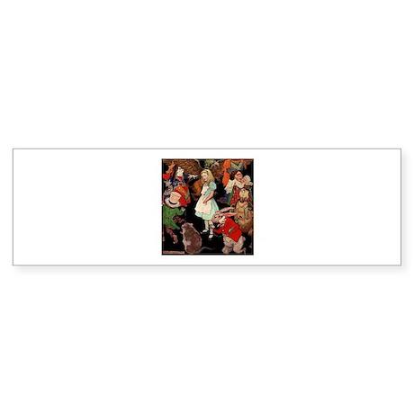 Alice and Friends Sticker (Bumper)