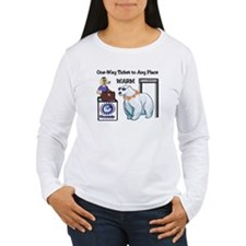Any Place--- Warm T-Shirt