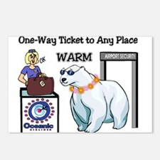 Any Place--- Warm Postcards (Package of 8)