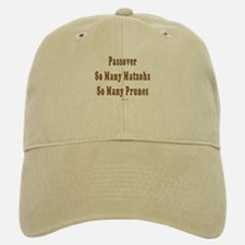 Matzoh and Prunes Passover Baseball Baseball Cap