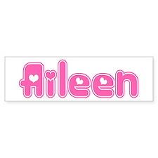 """""""Aileen"""" Bumper Bumper Sticker"""