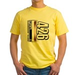 MOTOR V426 Yellow T-Shirt