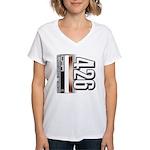 MOTOR V426 Women's V-Neck T-Shirt