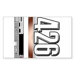 MOTOR V426 Sticker (Rectangle)