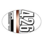 MOTOR V426 Sticker (Oval 50 pk)
