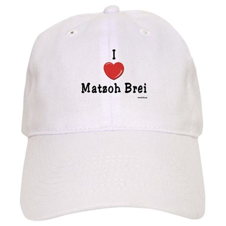 I Love Matzoh Brei Passover Cap