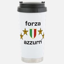 Forza Azzurri Stainless Steel Travel Mug