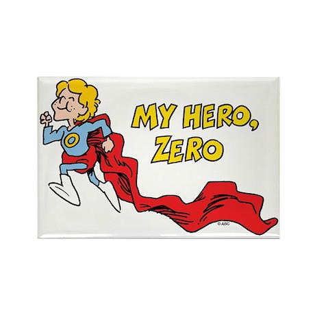 My Hero, Zero Rectangle Magnet