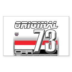 Musclecars 1973 H Decal