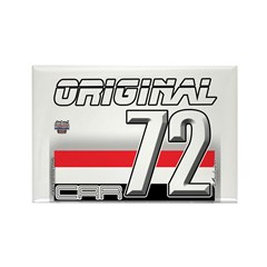 Musclecars 72H Rectangle Magnet