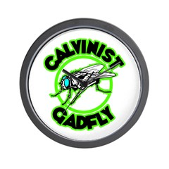 Calvinist Gadfly Wall Clock
