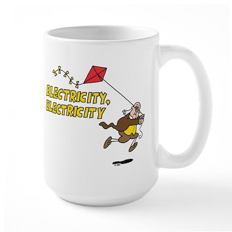 Electricity Large Mug