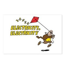 Electricity Postcards (Package of 8)
