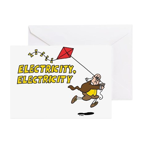 Electricity Greeting Cards (Pk of 10)