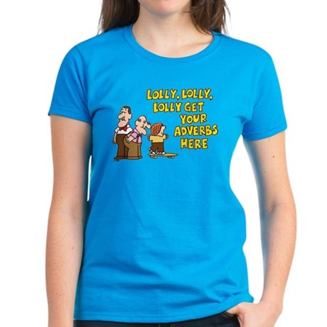 Lolly Lolly Lolly Women's Dark T-Shirt