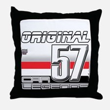 Musclecars 57H Throw Pillow