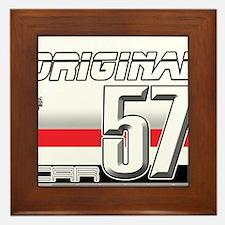 Musclecars 57H Framed Tile