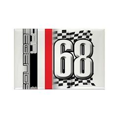 MRF 68 Rectangle Magnet (100 pack)