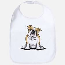 Cute English Bulldog Bib